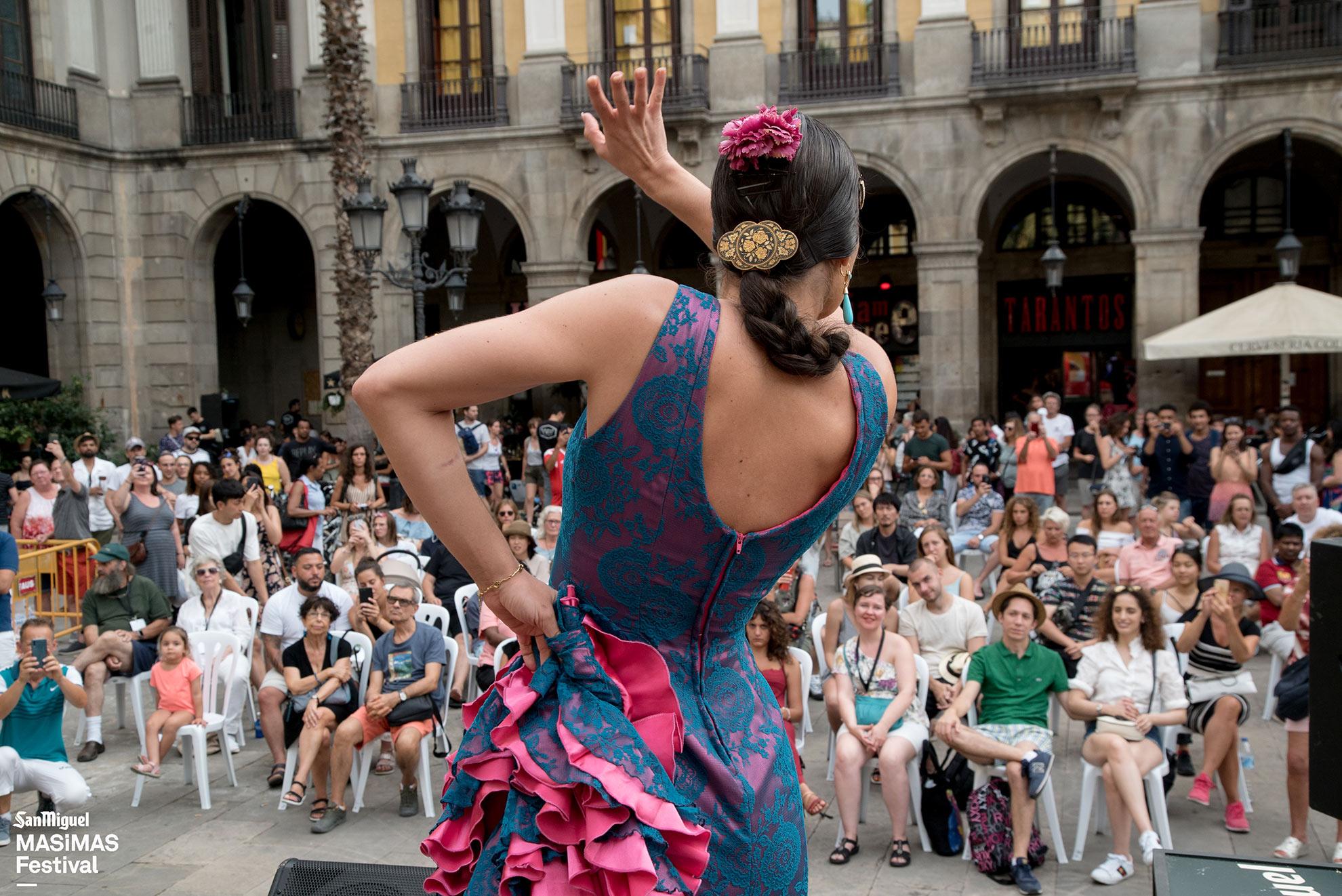 Actuacions flamenc plaça reial